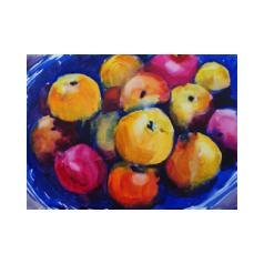colourful bowl of fruit
